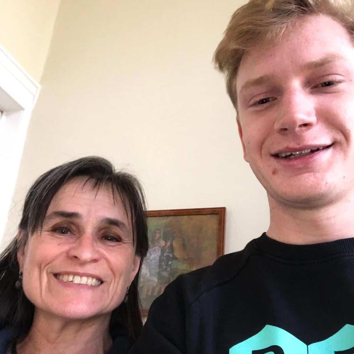 BEEGO student met Kristien Hemmerechts