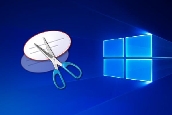 Schermafbeelding op Windows 10