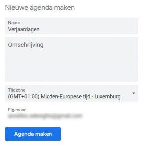 BEEGO Tip Google Agenda toevoegen