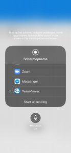 BEEGO schermopname iOS staop 2