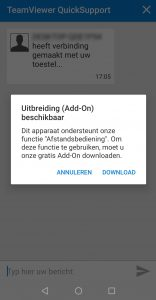 BEEGO Ad-on TeamViewer installeren