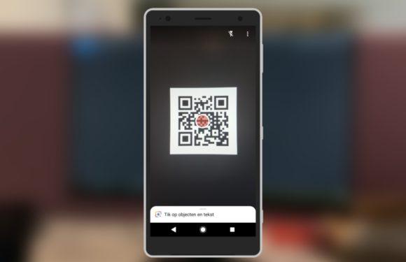 BEEGO tip QR code scannen