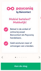 BEEGO Payconiq installeren